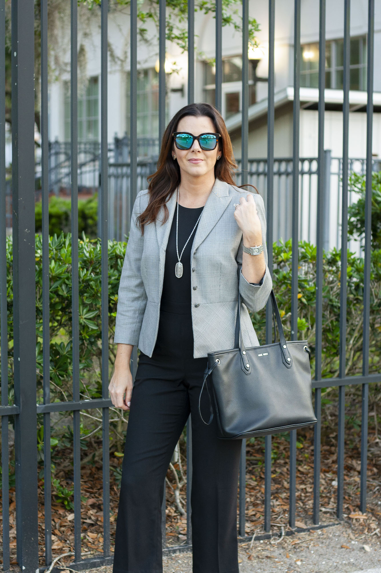 Fashion blog, corporate style, business professional, work wear, jumpsuit at work