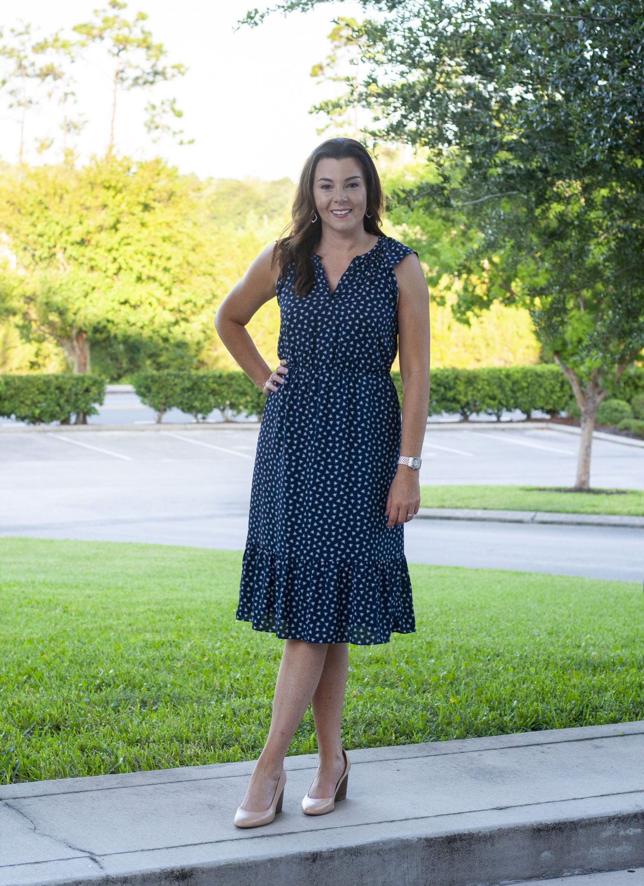 The Midi Dress – Business Casual Chic