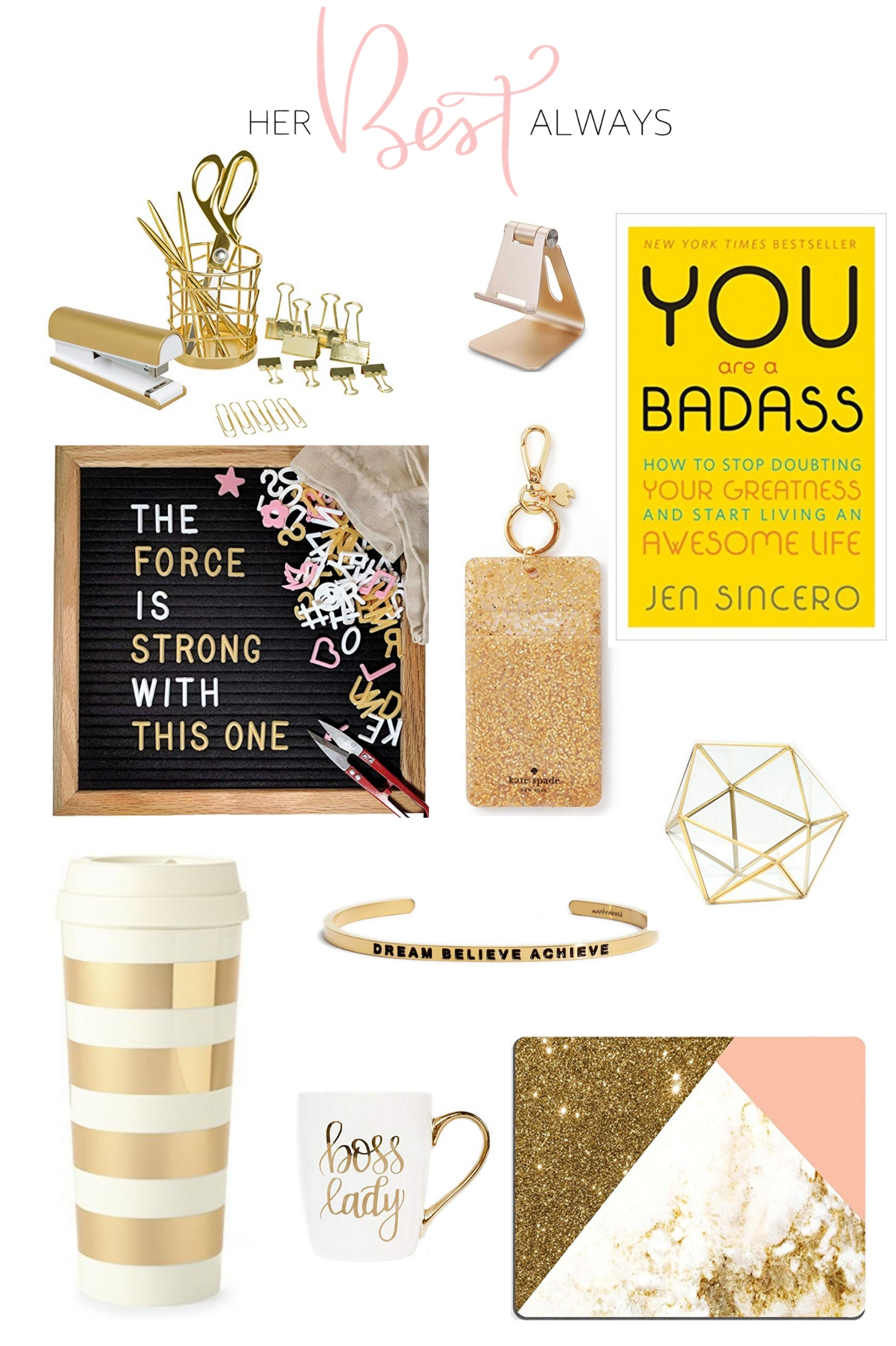 Gifts for Every Boss Babe in the Office - Her Best Always