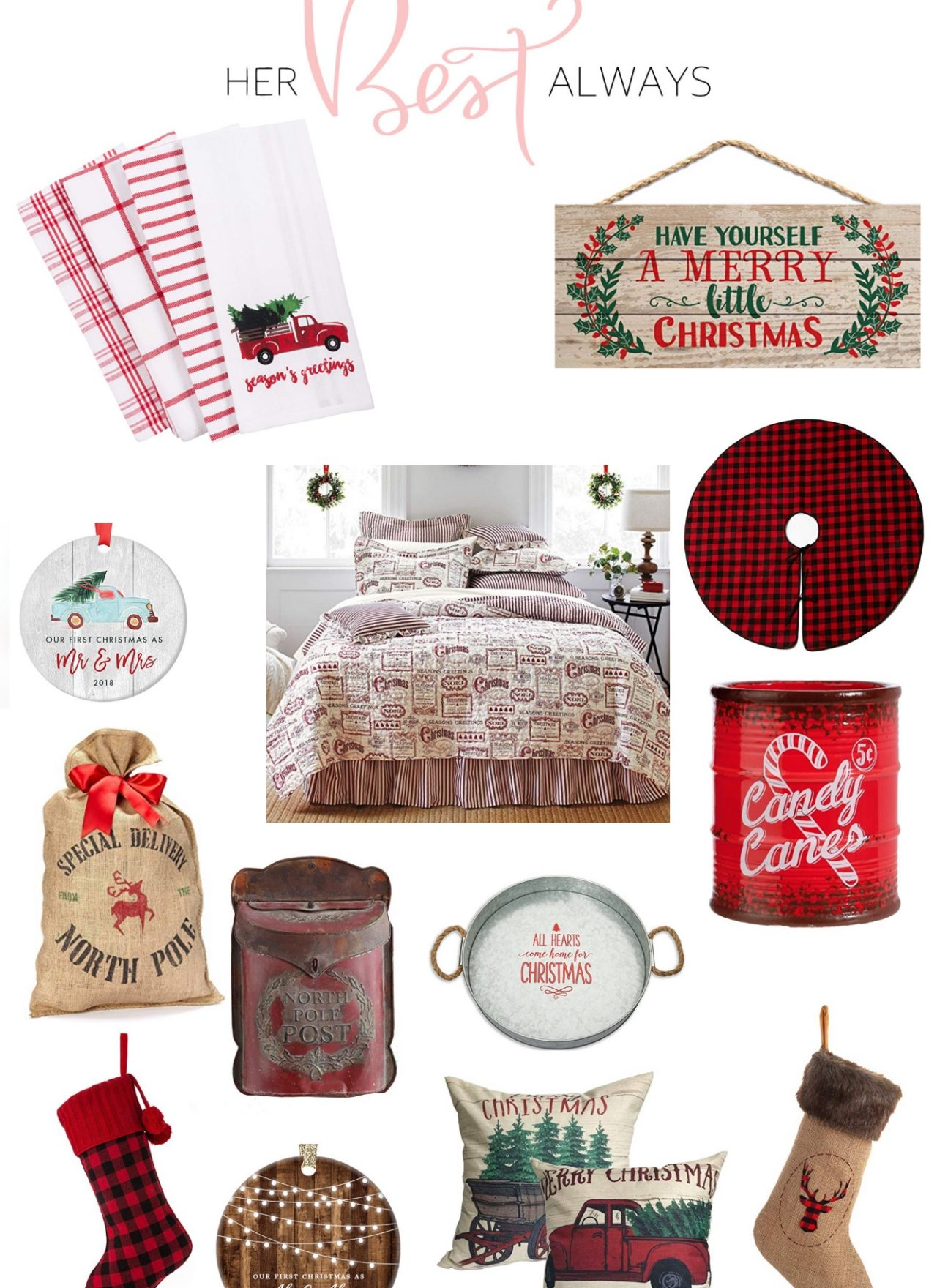 The BEST Vintage Christmas Decor