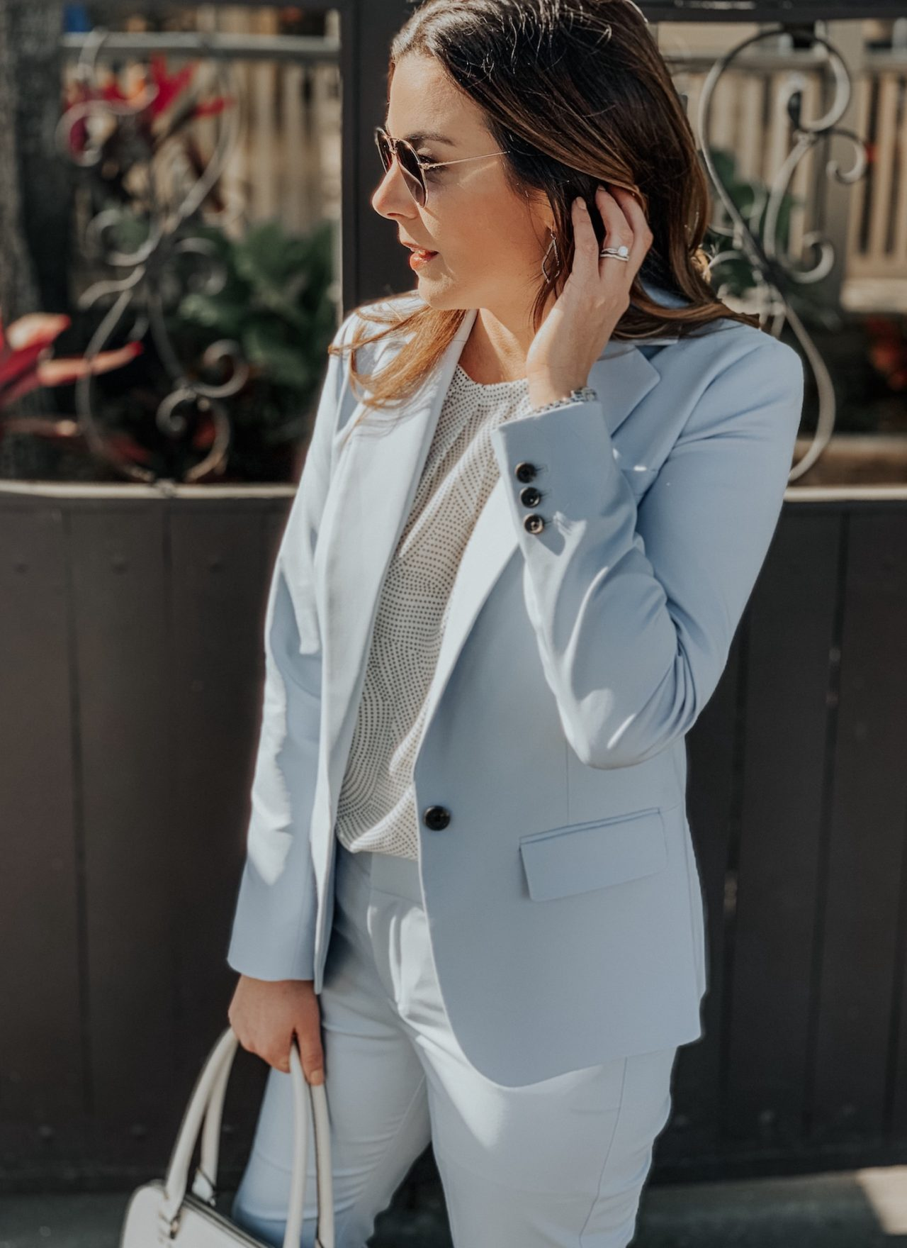 An Affordable Spring Suit from Target